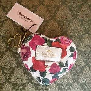 Juicy Couture Charm School Heart Coin Purse